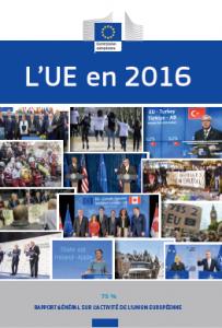 L'union européenne en 2016 Rapport général